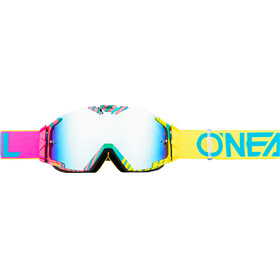 ONeal B-30 goggles geel/roze
